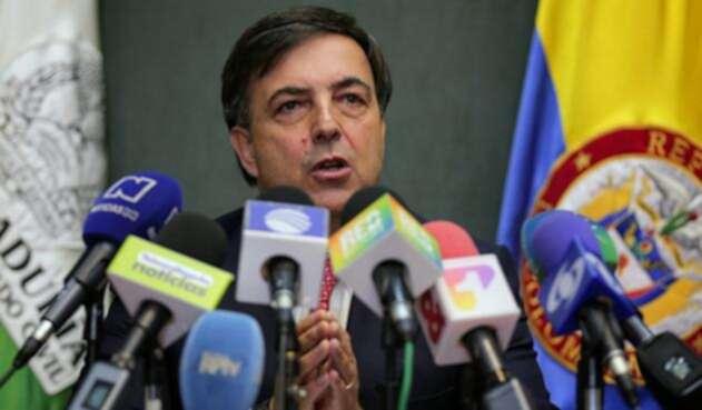 Juan Carlos Galindo, registrador nacional / Foto de Colprensa