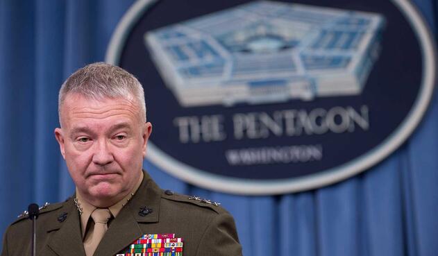 Kenneth McKenzie, director del Estado Mayor Conjunto de las Fuerzas Armadas de EE.UU.