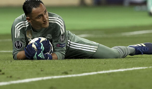 Keylor Navas, arquero del Real Madrid / AFP