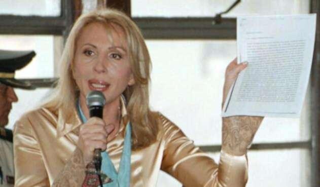 Laura Bozzo, presentadora peruana / AFP