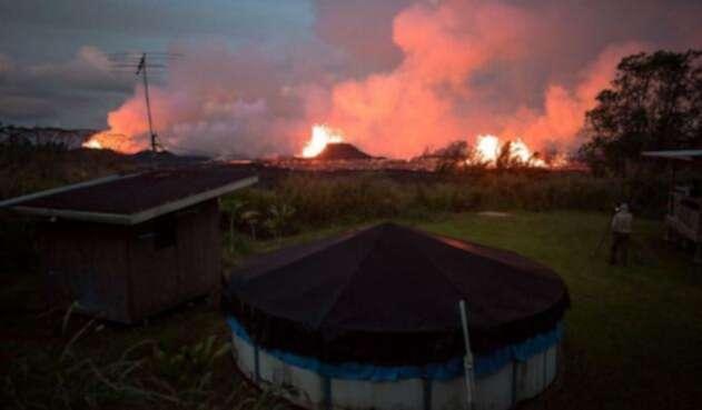 Magma volcán Kilauea