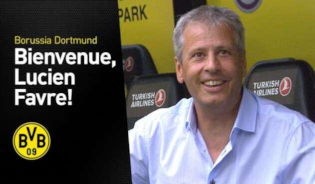 Lucien Favre, técnico del Borussia Dortmund