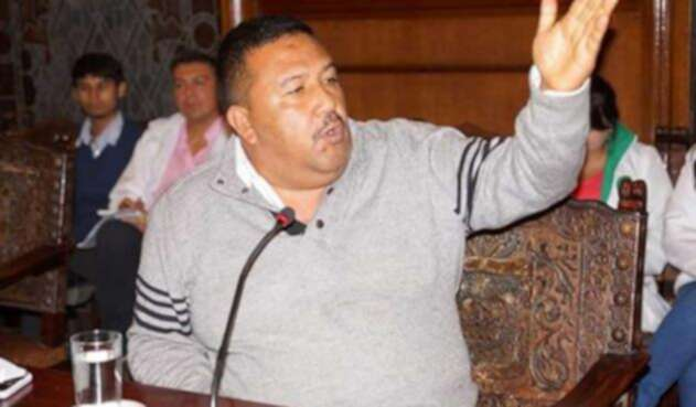 Luis Enrique Sánchez, concejal de Popayan