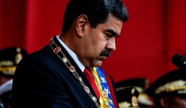 Nicolás Maduro, presidente de Venezuela, el 24 de mayo pasado en Caracas