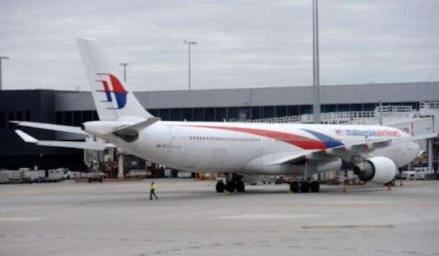 Un avión de Malaysia Airlines en Melbourne (Australia), el primero de junio de 2017