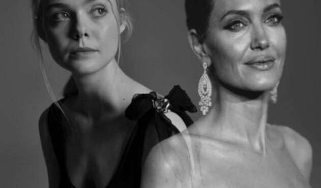 Elle Fanning - Angelina Jolie