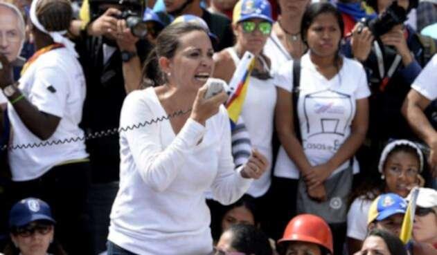 María Corina Machado, dirigente de Vente Venezuela