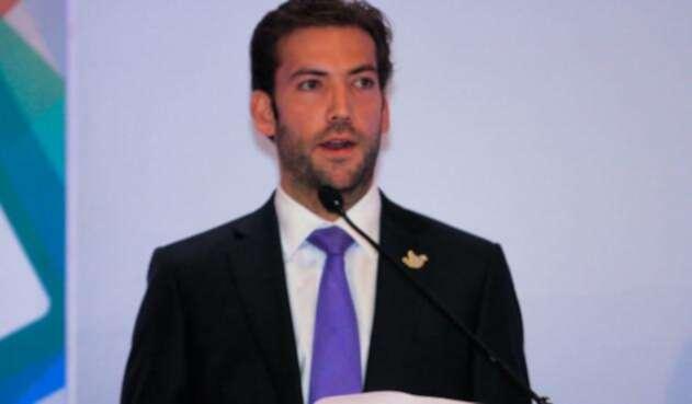 Martin Santos, hijo del presidente Juan Manuel Santos