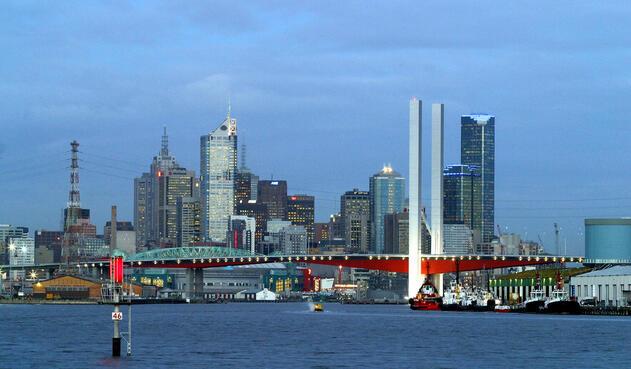 Melbourne, en Australia