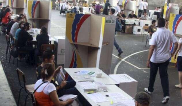 Mesas de votación en Colombia / Colprensa