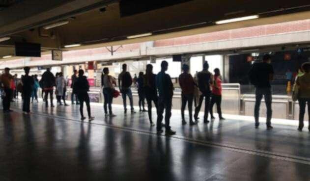 Estación del Metro de Medellín