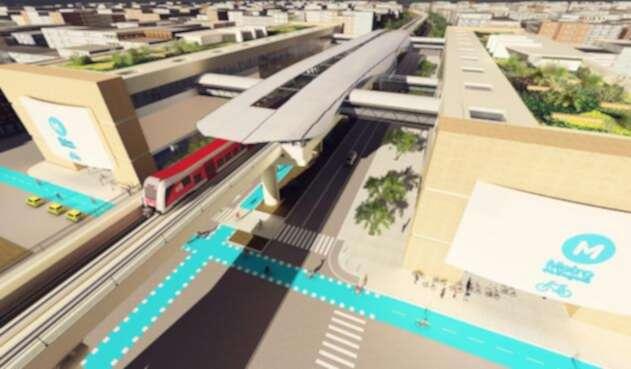 Así se verá el proyecto del Metro de Bogotá