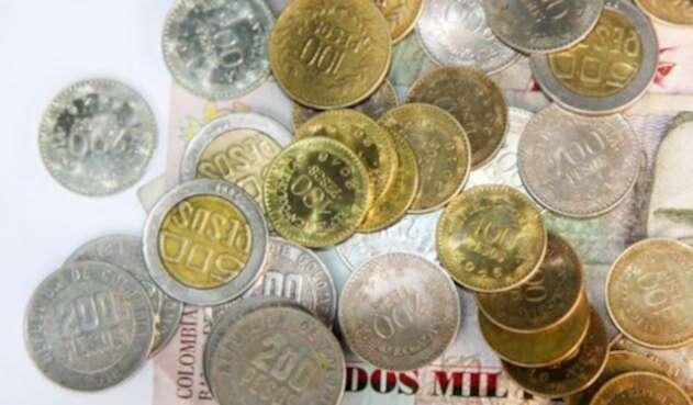 Las monedas colombianas