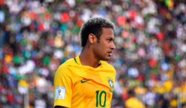 Neymar, estrella de la selección de Brasil