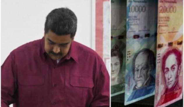 El presidente de Venezuela Nicolás Maduro tiene sumido a su país en una grave crisis económica