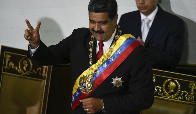 Nicolás Maduro, presidente de Venezuela / AFP