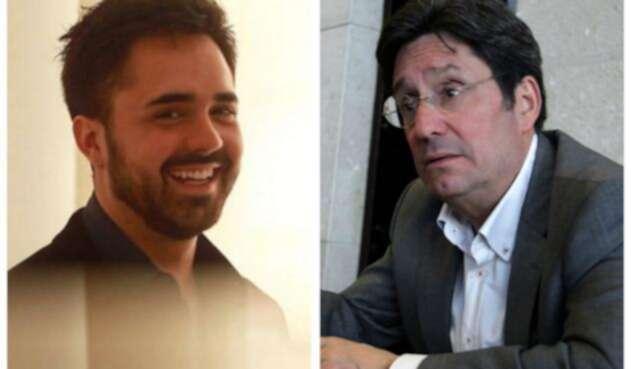 Pedro Santos y Pacho Santos