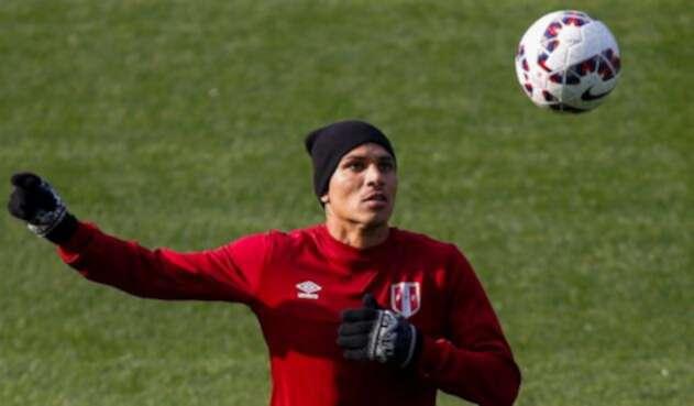 Paolo Guerrero, delantero de la Selección de Perú