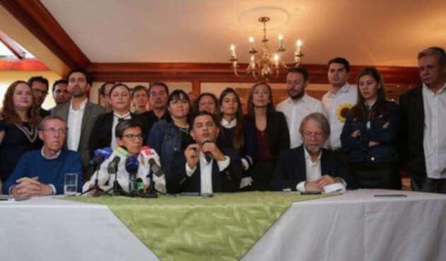 Imagen de la Alianza Verde / Colprensa