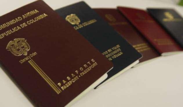 Pasaportes colombianos / Colprensa