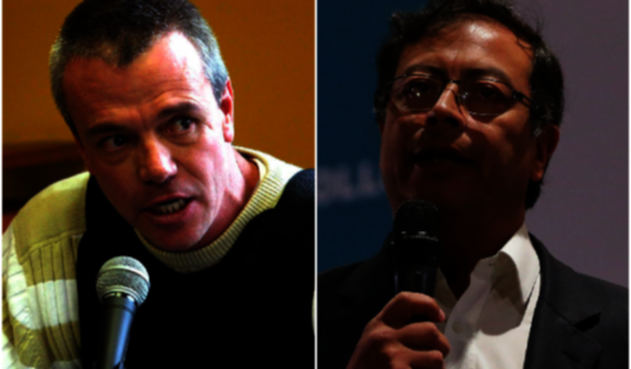 John Jairo Velásquez 'Popeye' y Gustavo Petro