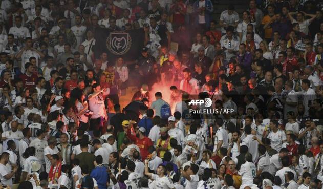 Aficionado invadió la cancha en final de Champions League entre Real Madrid vs Liverpool