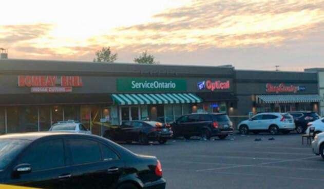 Restaurante de Canadá afectado por bomba