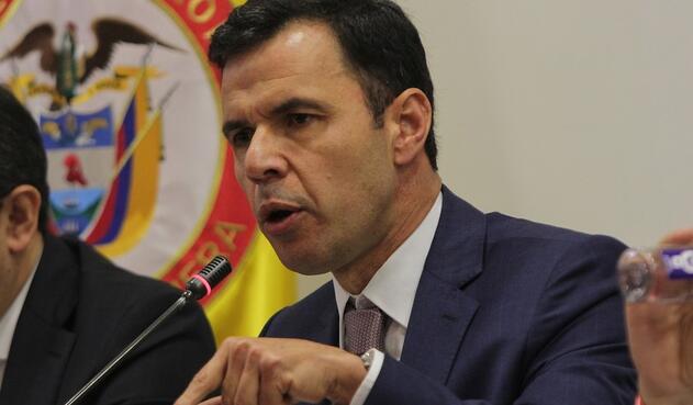 Rodrigo Rivera, ministro del Interior