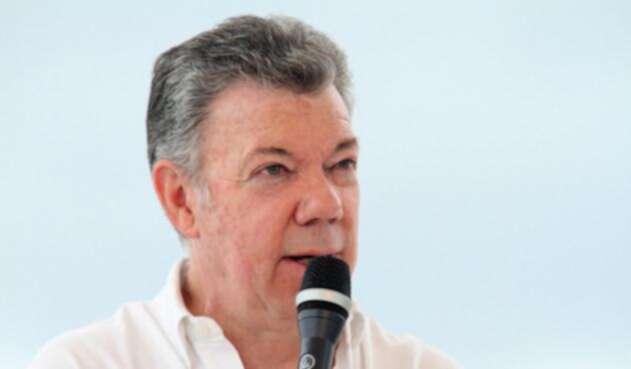 El presidente Juan Manuel Santos / Colprensa