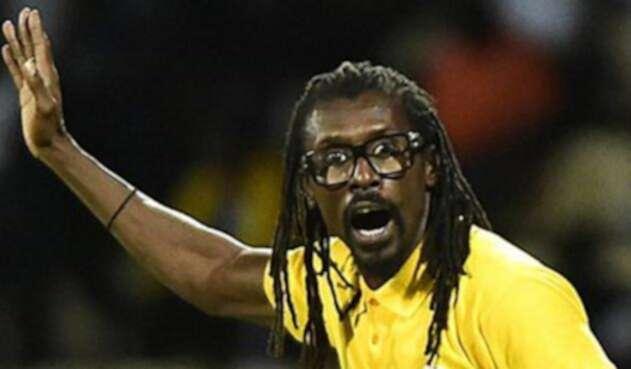 Aliou Cisse, técnico de Senegal / AFP