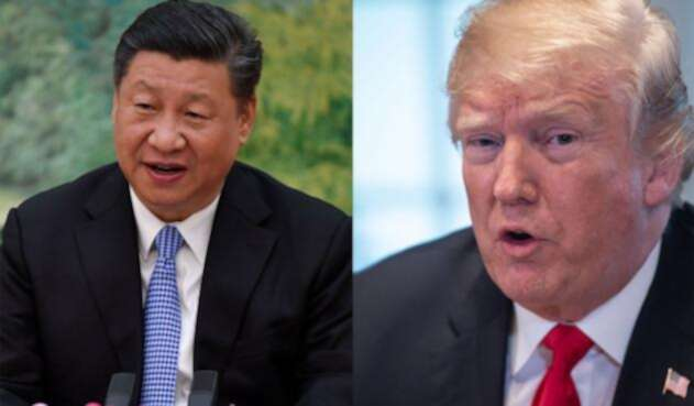 Presidente Trump y presidente Xi Jinping