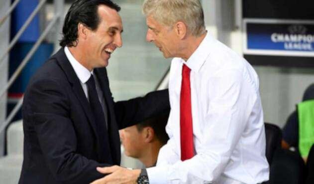 Unai Emery reemplazo de Arsene Wenger