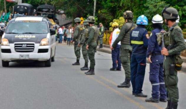 Control de seguridad en Valdivia
