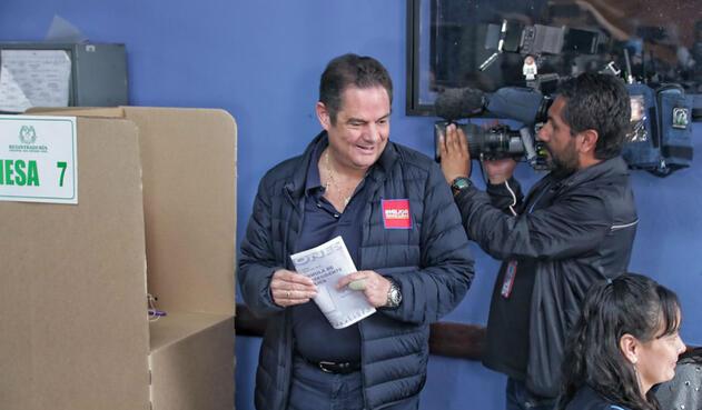 El candidato de Cambio Radical y La U, Germán Vargas Lleras