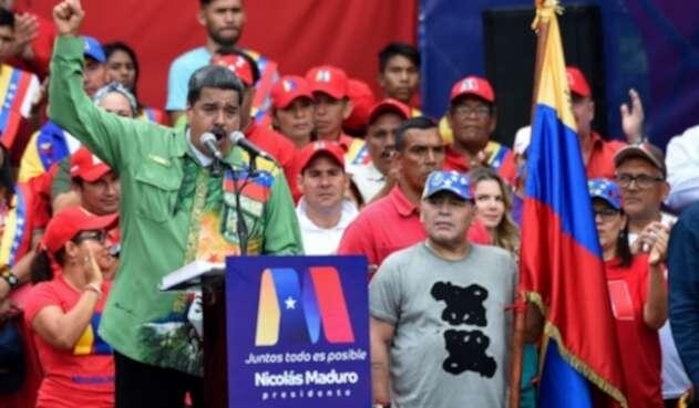 Presidente de Venezuela, Nicolás Maduro.