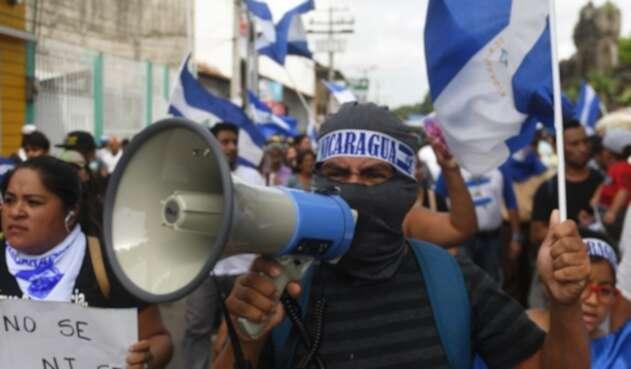 Protestas en Nicaragua.