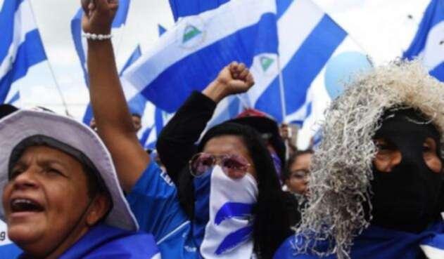 Un muerto y 11 heridos dejó la marcha celebrada este sábado en contra del presidente Daniel Ortega