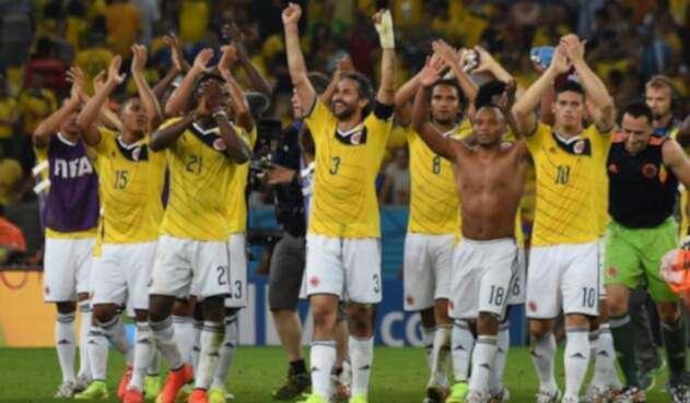 Selección Colombia en el Mundial de Brasil 2014