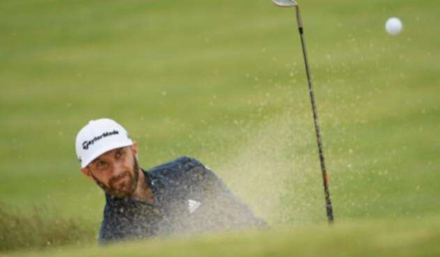 Dustin Johnson, líder del US Open de golf