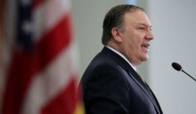 Mike Pompeo, secretario de Estado de EE. UU.