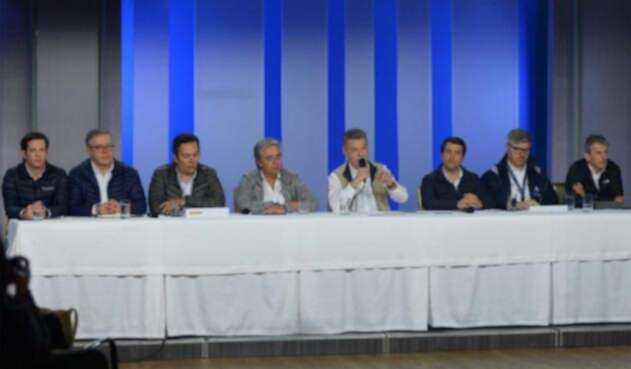 El presidente Juan Manuel Santos lideró la rendición de cuentas de la Revolución de la Infraestructura en la Región Oriental del país