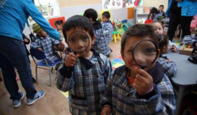 Los jardines infantiles de la secretaría de Integración Social ayudan a población en condición de vulnerabilidad.