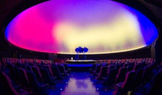 Domo del Planetario de Bogotá