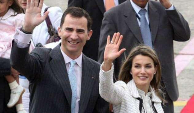 Rey Felipe y Letizia de España