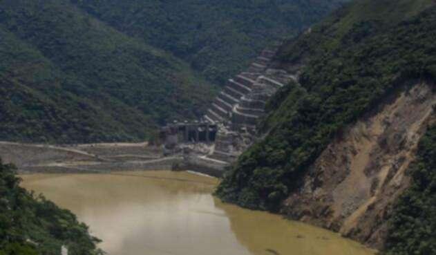 El hidroeléctrica de Hidroituango
