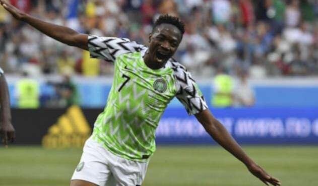 Ahmed Musa, la figura del juego entre Nigeria e Islandia