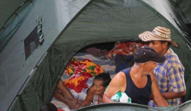 Miles de personas permanecen en los albergues ante la emergencia de Hidroituango