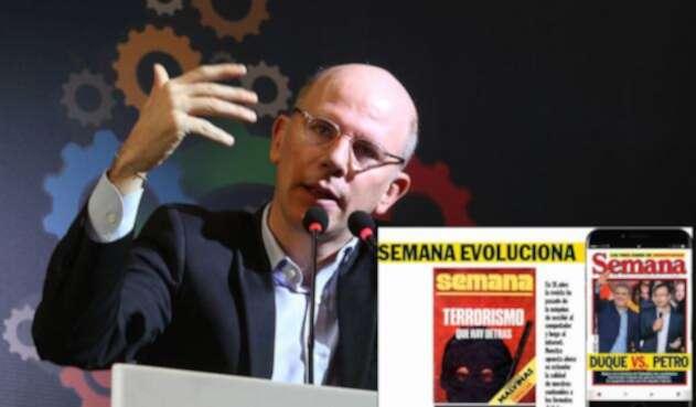 Alejandro Santos, director de Semana