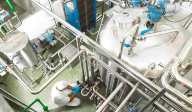 El interior de una fábrica de Alpina