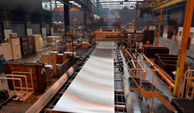 Una fábrica de aluminio en Biesheim (Francia)